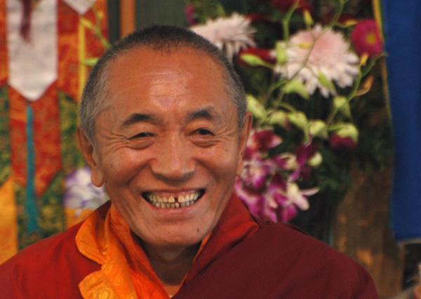 Khenchen Palden Sherab Rinpoche