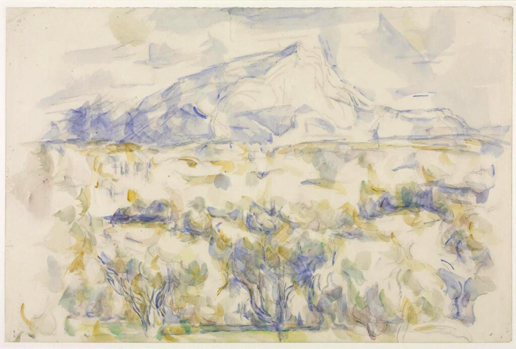 Montagne Sainte Victoire 1905-06